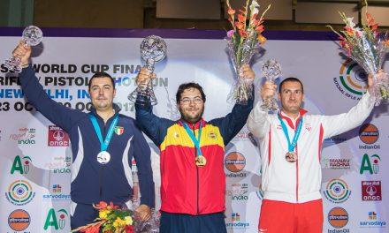 Фантастический Фернандес! Испанец устанавливает новый мировой рекорд и забирает золото!