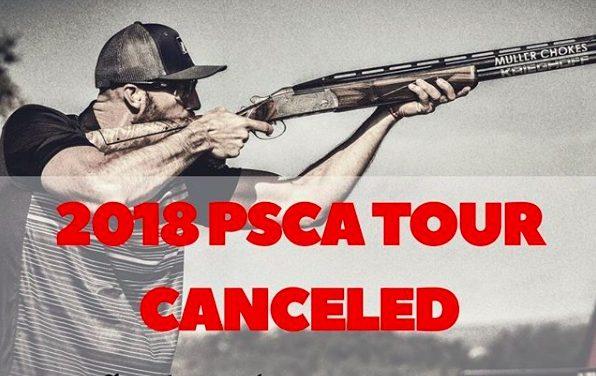 Шокирующая новость! PSCA tour 2018 отменен…