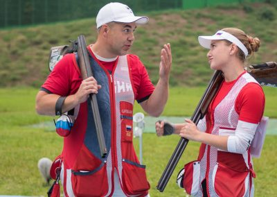 52nd ISSF World Championship All Events 2018 - Changwon, KOR - Final Trap Mixed Team