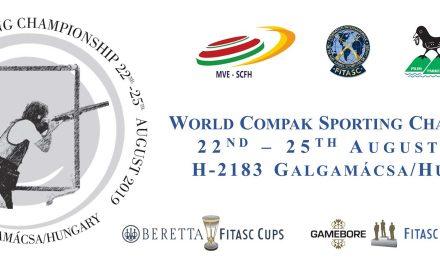 Чемпионат мира по компакту | FITASC | Венгрия 22-25Авг2019