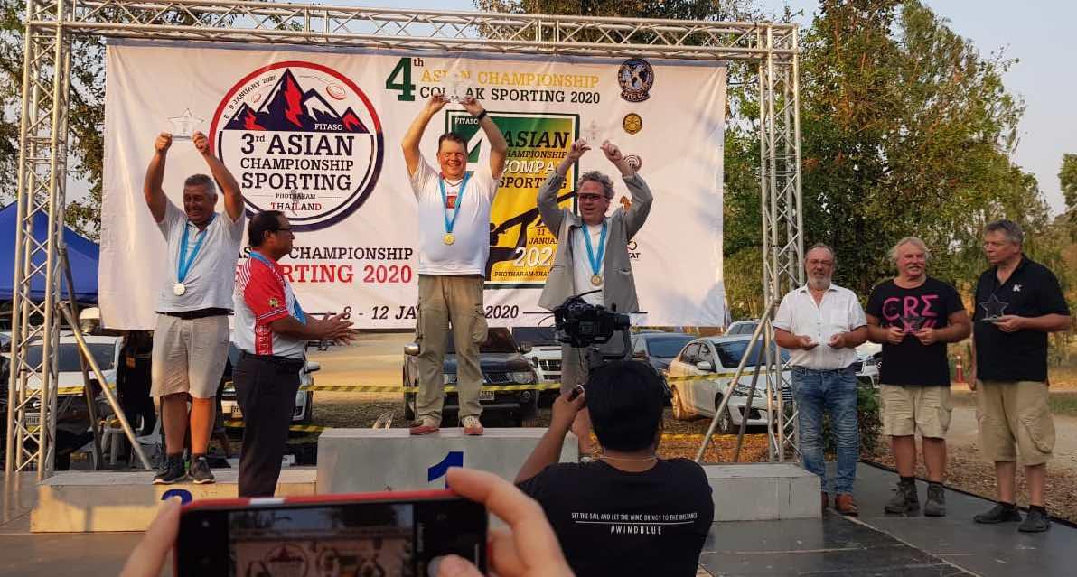 4-й Чемпионат Азии по спортингу | Тайланд — Фоторам | 08-12янв2020