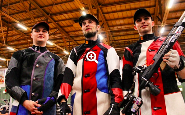 Каменский, Дрягин и Масленников завоевали золото Чемпионата Европы