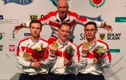 Артём Черноусов, Андрей Чиликов и Антон Аристархов — Чемпионы Европы 2020