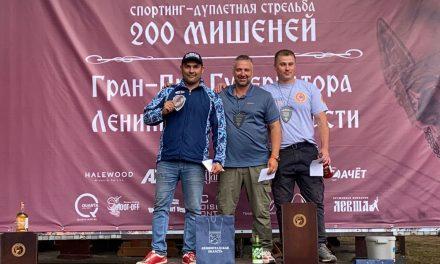 21-й Кубок Александра Невского по английскому спортингу | 22-23.08.2020