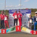Волкова Мария и Максим Кабацкий — чемпионы России 2020 | трап — смешанные пары
