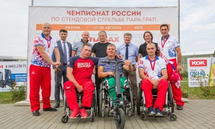 Состоялся Первый Чемпионат России по пара-стендовой стрельбе