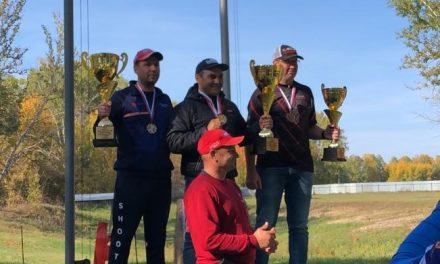 Игорь Егоров (Якутск) победитель 6 этапа Кубка России по компакт спортингу | 2020