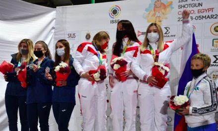 Российские стрелки — победители Кубка мира в Египте   Скит