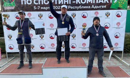 Евгений Цыгикало — победитель 1-го этапа Кубка России по компакт спортингу