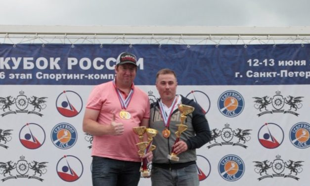 Константин Кирин — победитель 6-го этапа Кубка России по компакту