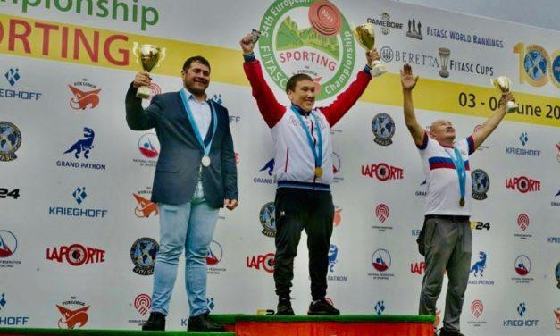 Николай Кобяков (Якутск) — Чемпион Европы по спортингу 2021