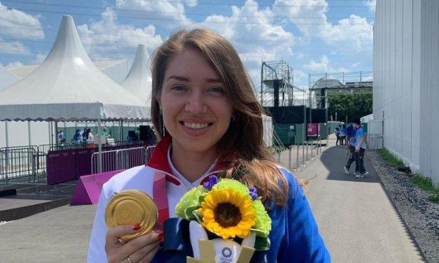 Виталина Бацарашкина — Олимпийская чемпионка Токио по пулевой стрельбе