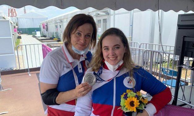 Анастасия Галашина — олимпийское серебро Токио в пневматической винтовке
