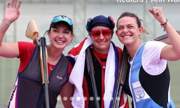 Сусанна Стефетчикова (Словакия) — Олимпийская чемпионка Токио 2020 по трапу