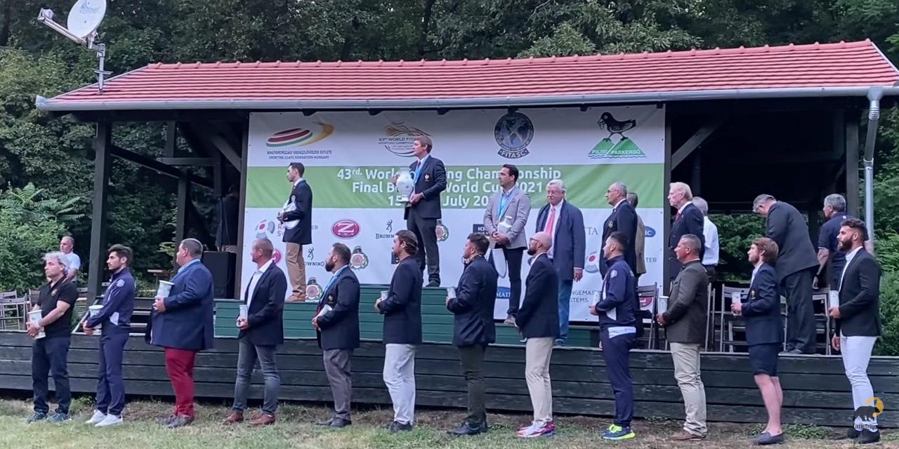 Gael Poinsot — Чемпион мира по спортингу 2021