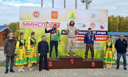 Гия Тибилов — победитель 11 этапа Кубка России по компакт спортингу